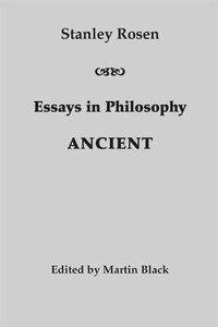 Essays in Philosophy: Ancient