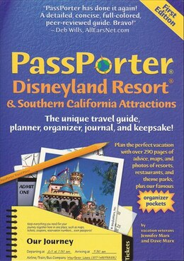 Book PassPorter Disneyland Resort and Southern California 2004 by Jennifer Watson