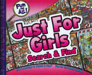 Fun For All Just For Girls Search & Find