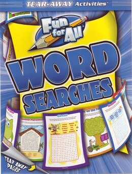 Book Fun For All Word Searches Tearaway Pad by Kidsbooks