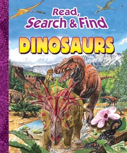 Book READ SEARCH & FIND DINOSAURS by Kidsbooks