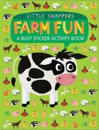 Farm Fun: A Busy Sticker Activity Book