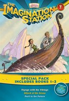 Imagination Station Books 3-pack: Voyage With The Vikings / Attack At The Arena / Peril In The Palac