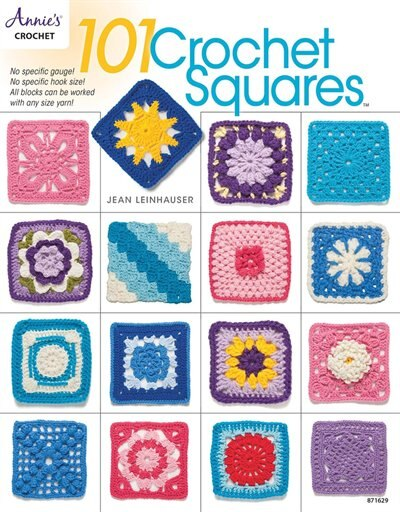 101 Crochet Squares by Jean Leinhauser