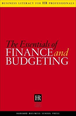 Book The Essentials of Finance and Budgeting by SHRM-HBSP Harvard Business School Press