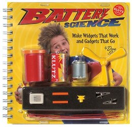 Book Battery Science: Make Widgets That Work and Gadgets That Go by Doug Stillinger