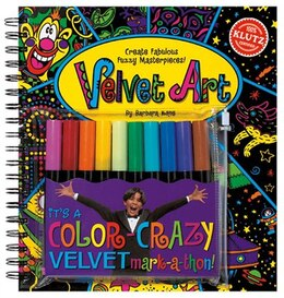 Book Velvet Art: Create Fabulous Fuzzy Masterpieces by Barbara Kane