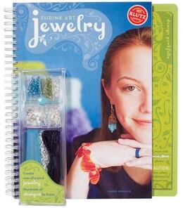 Book Shrink Art Jewelry by Karen Phillips