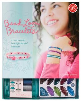 Book Bead Loom Bracelets by Anne Akers Johnson