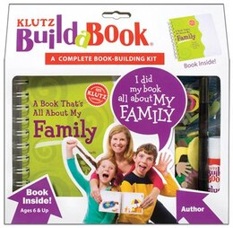 Book Klutz Build-A-Book: A Book That's All About My Family by Klutz