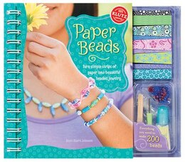 Book Paper Beads by Anne Akers Johnson