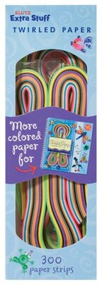 Book Klutz Extra Stuff For Twirled Paper by Klutz
