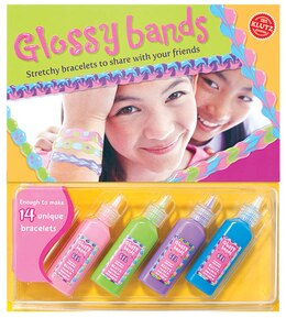 Book Glossy Bands: Stretchy Bracelets to Share with Your Friends by * Klutz