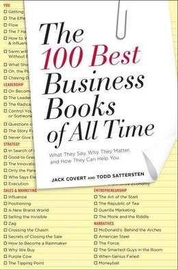 Book The 100 Best Business Books Of All Time: What They Say, Why They Matter, And How They Can Help You by Jack Covert