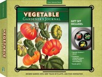 Vegetable Gardener's Journal & Magnet Gift Set: Record Garden Info, Keep Track Of Plants, And Find…