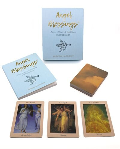 Angel Blessings: Cards Of Sacred Guidance And Inspiration by Kimberly Marooney