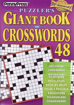 Book PUZZLERAES GIANT BK OF CROSSWORDS NUM48 by Na