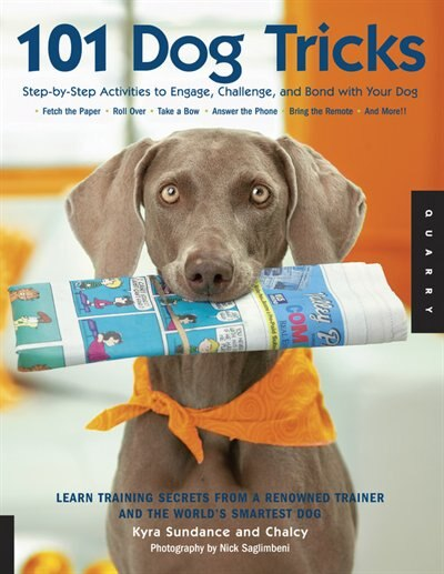 101 Dog Tricks: Step By Step Activities To Engage, Challenge, And Bond With Your Dog by Kyra Sundance