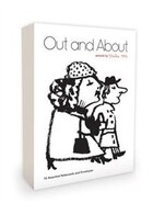 Out And About Note Cards Artwork By Studio 1482: 16 Assorted Note Cards And Envelopes