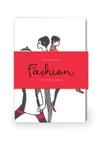 Book Fashion Illustration Artwork By Maite Lafuente Journal Collection 2: Set Of Two 64-page Notebooks by Maite Lafuente