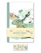 Imaginary Animals Blank Notebooks: Set Of Three 48-page Blank Notebooks