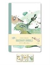 Book Imaginary Animals Blank Notebooks: Set Of Three 48-page Blank Notebooks by Carla Sonheim
