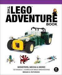 The Lego Adventure Book, Vol. 4: Monsters, Mecha & More!