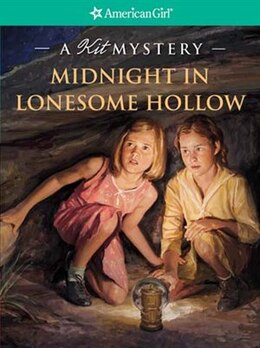 Book Midnight in Lonesome Hollow: A Kit Mystery by Kathleen Ernst