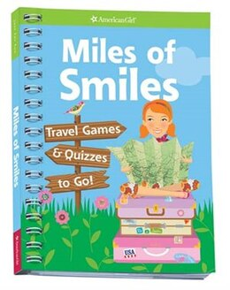 Book Miles of Smiles: Travel Games and Quizzes To Go by Laurie Calhoven