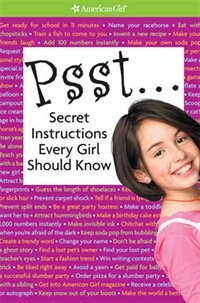 Book Psst Secret Instructions Every Girl Should Know by Rick Walton