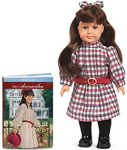 Book Samantha 6 Inch Mini Doll With Book by American Girl