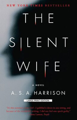 Book The Silent Wife: Large Print Edition by A. S. A. Harrison
