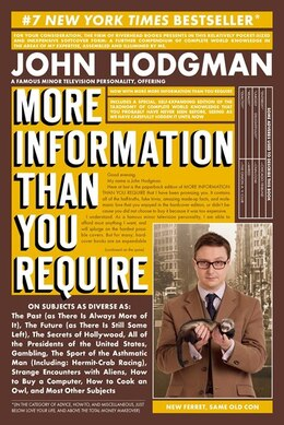 Book More Information Than You Require by John Hodgman