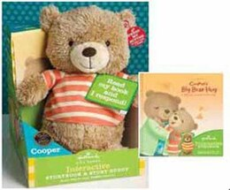 Book Cooper Interactive Buddy & Storybook by Milissa Woo