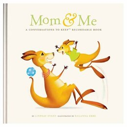 Book Mom & Me Recordable Conversation Book by Lindsay Evans