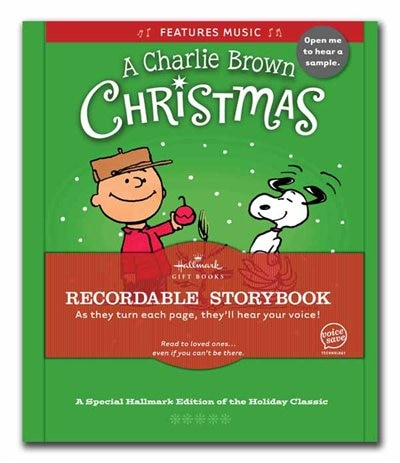 A Charlie Brown Christmas Recordable Storybook by Charles Schulz