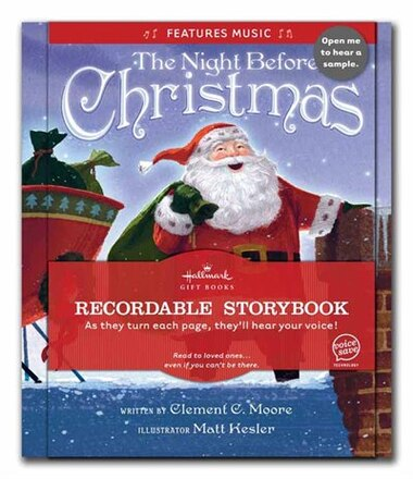 Recordable Christmas Books.The Night Before Christmas Recordable Storybook