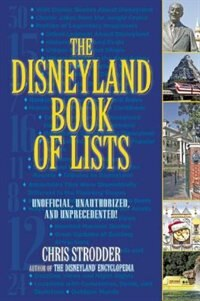 Book The Disneyland Book Of Lists by Chris Strodder
