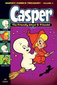 Book The Harvey Comics Treasury Volume 1 Casper The Friendly Ghost And Friends by Larz Bourne