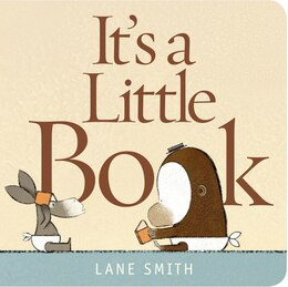 Book It's a Little Book by Lane Smith