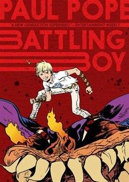 Book Battling Boy by Paul Pope