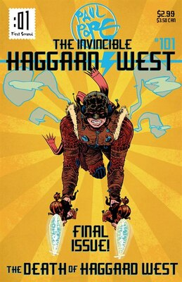 Book The Death of Haggard West by Paul Pope