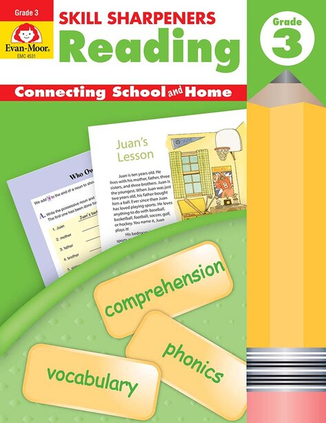 Skill Sharpeners Reading Grade 3 by Evan-moor Educational Publishers