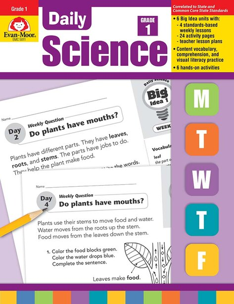 Daily Science Grade 1 by Evan-moor Educational Publishers
