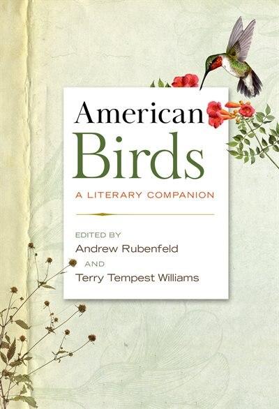 American Birds: A Literary Companion by Andrew Rubenfeld