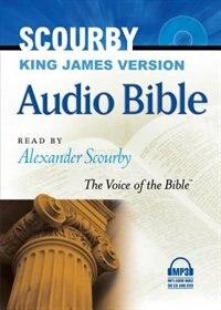 SCOURBY KJV AUDIO BIBLE, MP3 by Alexander Scourby, Alexander