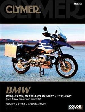 Bmw R850, R1100, R1150 And R1200c* 1993-2005 by Penton Staff