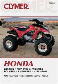 Honda Trx250x 87-92 & Trx300ex Fourtrax And Sportrax 93-06 by Penton Staff