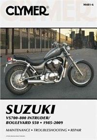Suzuki Vs700-800 Intruder/boulevard S50 1985-2007 by Penton Staff