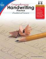 Comprehensive Handwriting Practice: Traditional Cursive